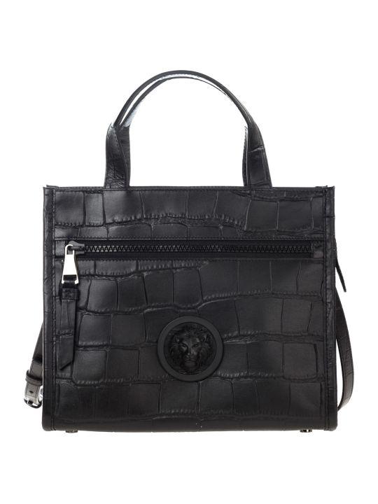 Versus Versace  Handbag Cross-body Messenger Bag Purse Lion Head