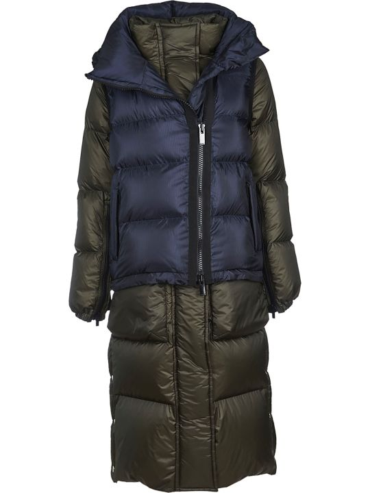 Sacai Layered Long Down Jacket