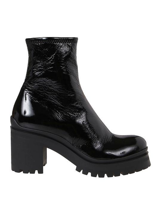 Miu Miu Side-zipped Ankle Boots