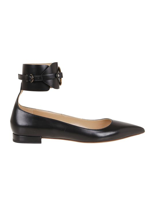 Francesco Russo Calf Leather Ballerina