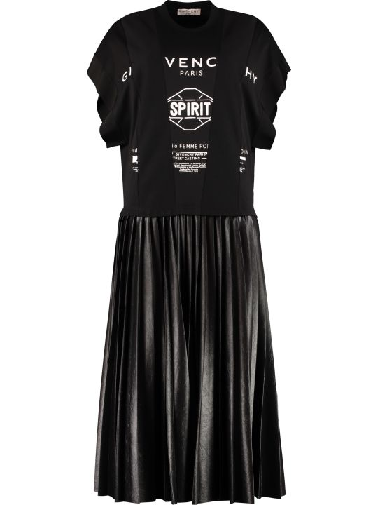 Givenchy Plated Skirt Dress