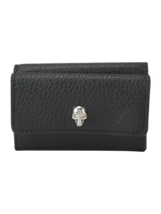 Alexander McQueen New Mini Skull Wallet