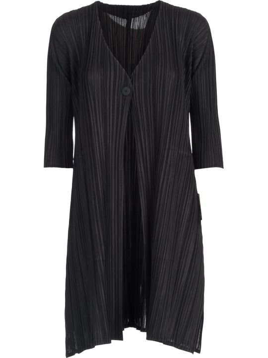 Pleats Please Issey Miyake Pleats Please By Issey Miyake Pleated Coat