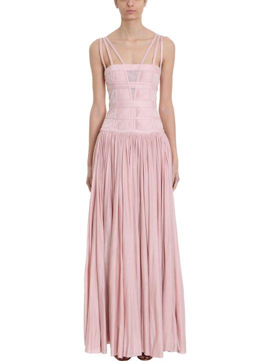 Giovanni Bedin Pleated Maxi Dress