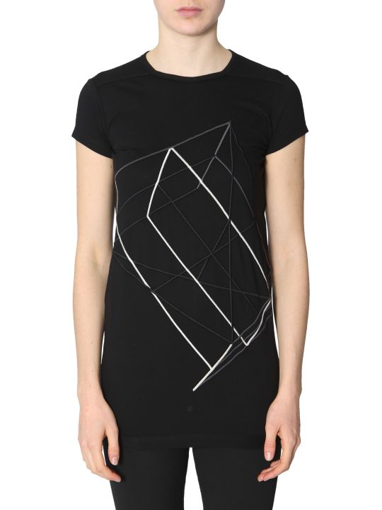 Rick Owens Embroidered T-shirt