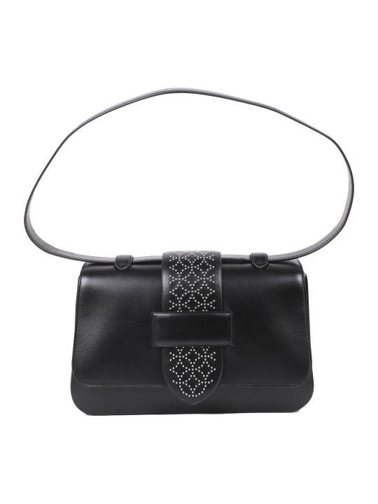 Alaia Black Arabesque Bag