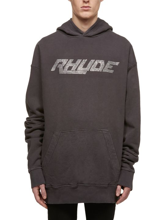 Rhude Embellished Logo Hoodie