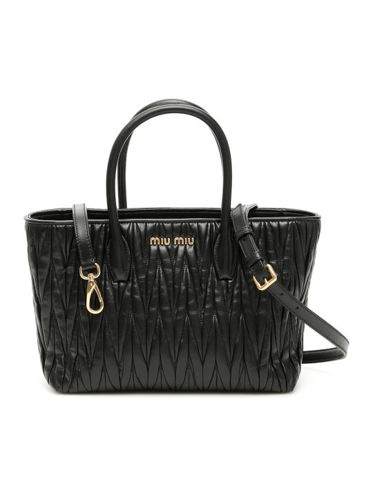 Miu Miu Matelasse Shopping Bag