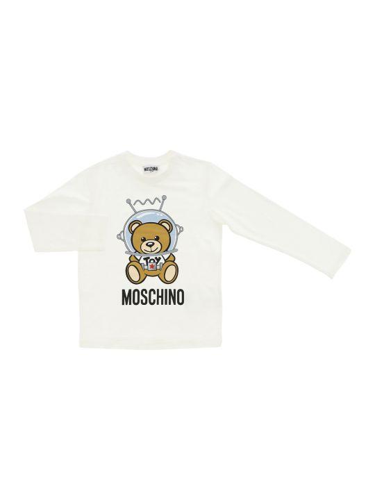 Moschino Tee Manica Lunga Bear King