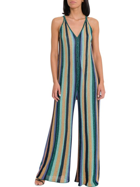 M Missoni Lurex Knit Jumpsuit