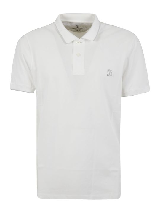 Brunello Cucinelli Buttoned Polo Shirt