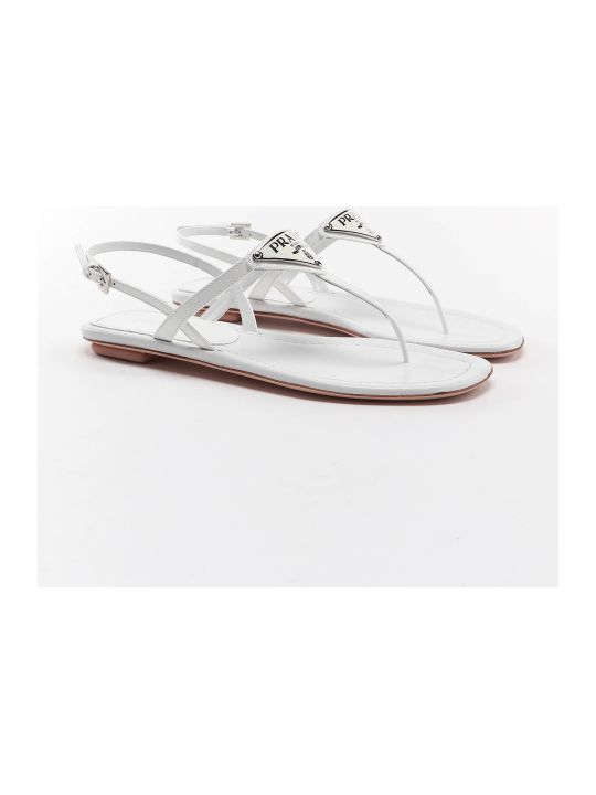 Prada Thong Sandal Patent
