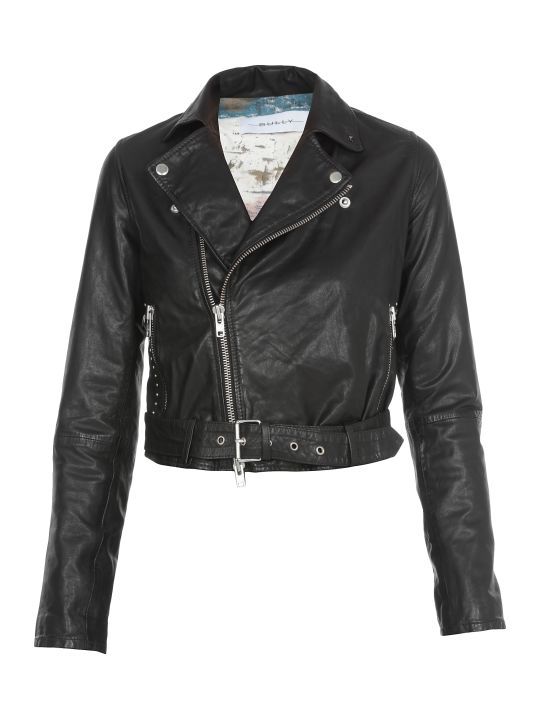Bully Leather Studded Jacket