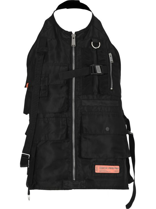 HERON PRESTON Nylon Pocket Vest