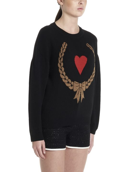 Boutique Moschino 'heart' Sweater