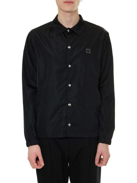 Dior Homme Blue Nylon Jacket With Bee