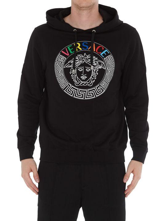 Versace Logo Hoodie
