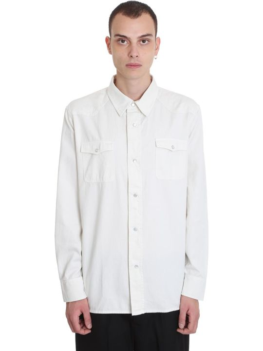 Our Legacy Shirt In White Denim