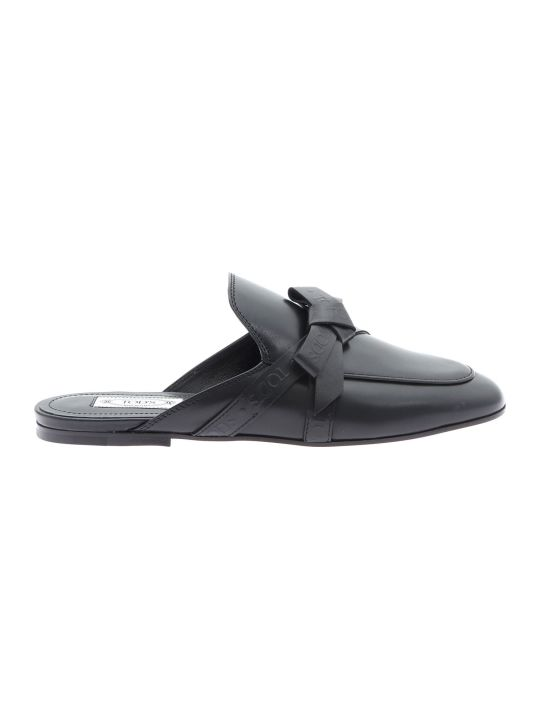 Tod's Branded Buckle Mules