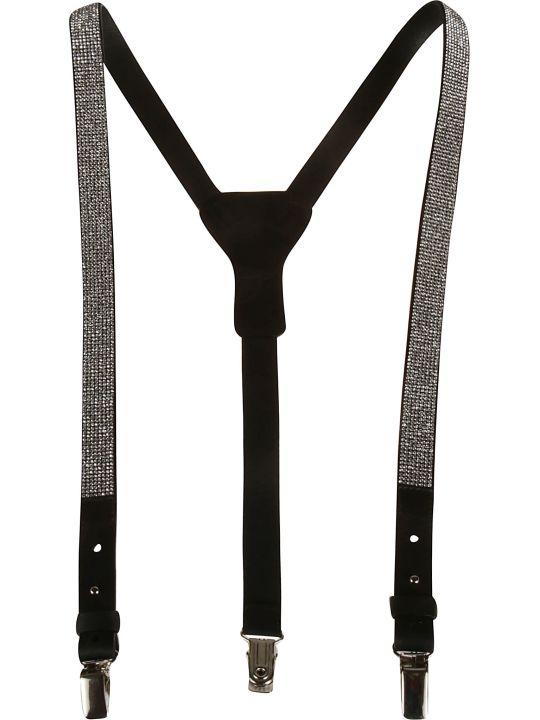 Ermanno Scervino Classic Snap-lock Suspenders