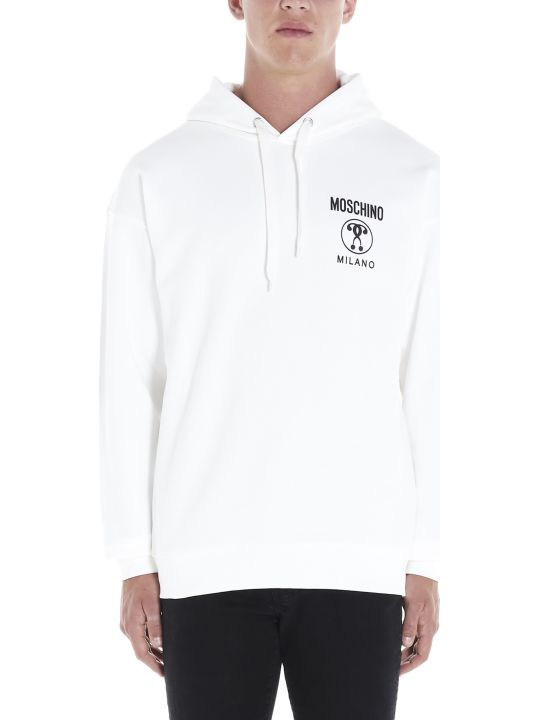 Moschino 'double Question Mark' Hoodie