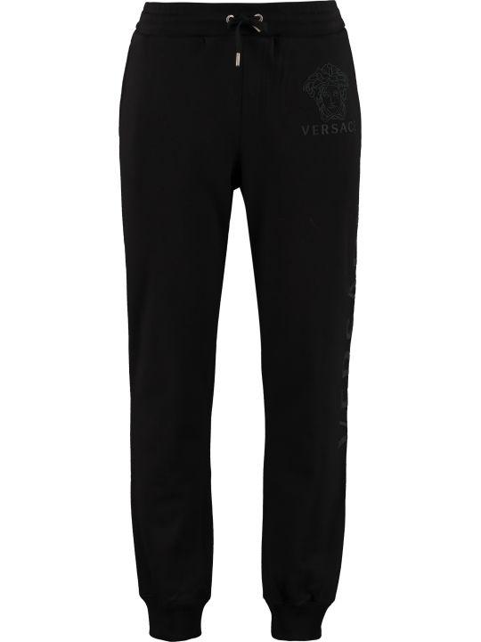 Versace Stretch Cotton Track-pants