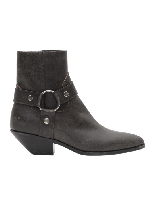 Saint Laurent West Harness Bootie