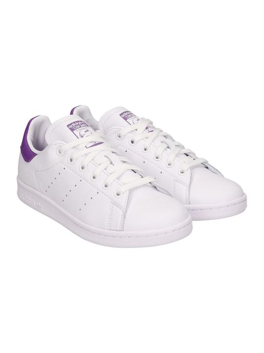 Adidas Stan Smith W Sneakers In White Leather