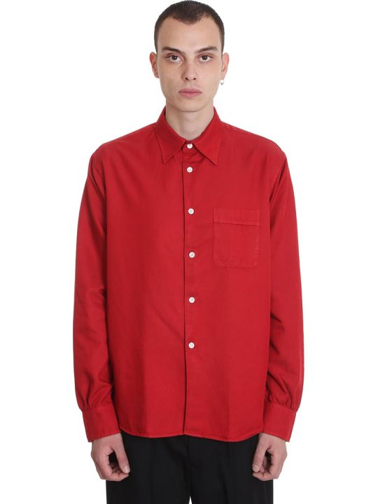 Our Legacy Shirt In Red Cotton