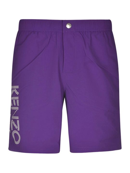 Kenzo Long Paris Swim Shorts