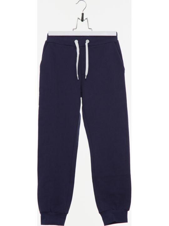 Fendi Blue Sweatshirt-fleece Tracksuit Trousers