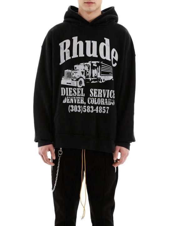 Rhude Diesel Service Hoodie
