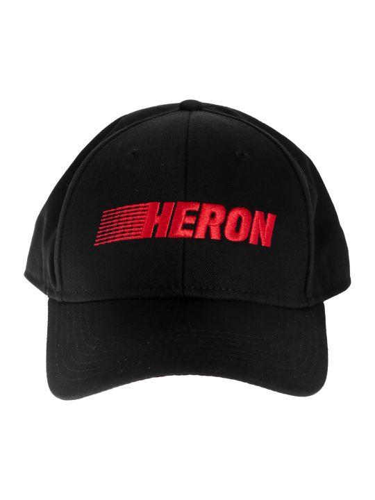 HERON PRESTON Heron Embroidered Logo Baseball Cap