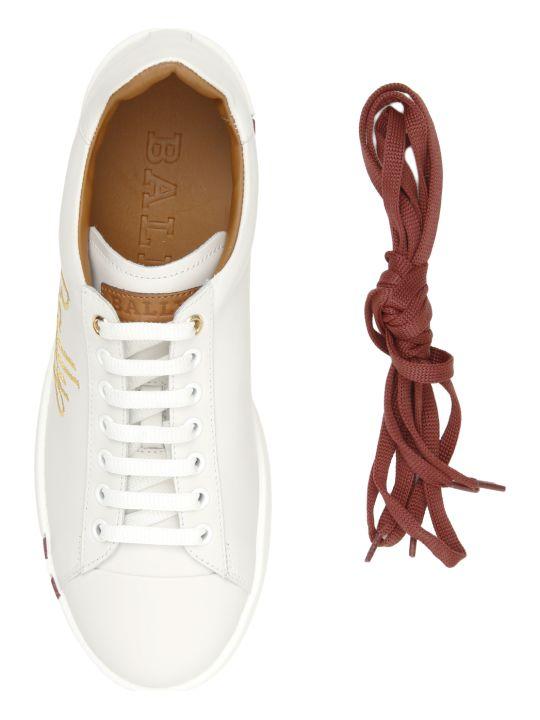 Bally Wiera Logo Sneakers