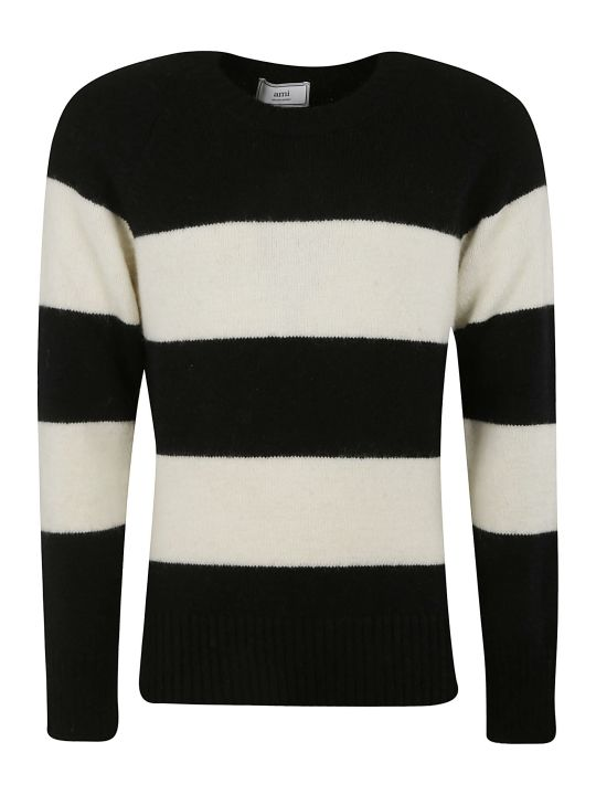 Ami Alexandre Mattiussi Stripe Knit Sweater