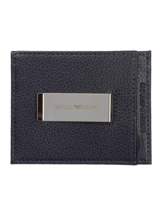 Emporio Armani Trpx Credit Card Holder