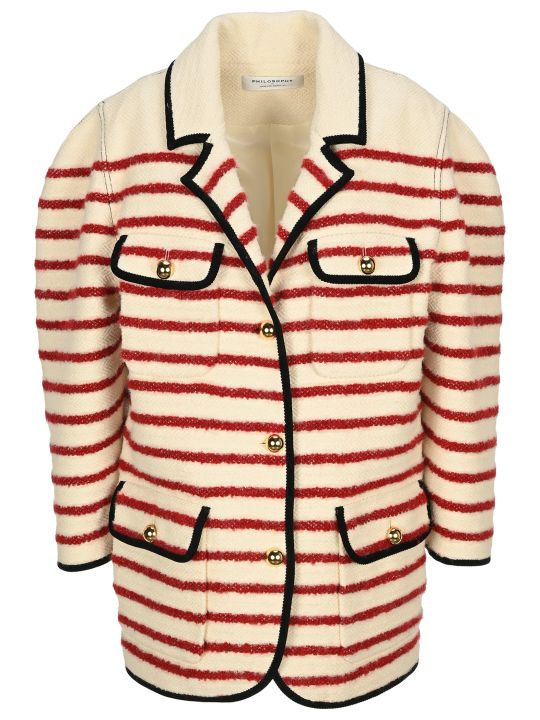 Philosophy di Lorenzo Serafini Philosophy Striped Jacket