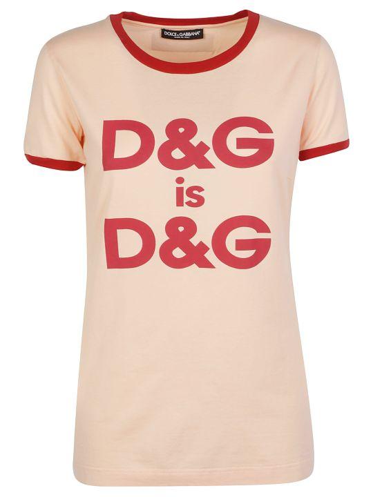 Dolce & Gabbana Dolce E Gabbana T-shirt