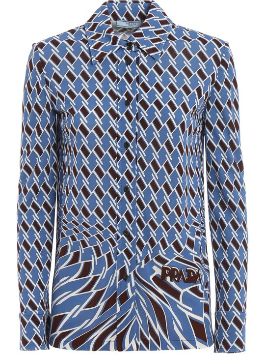 Prada Geometric Shirt