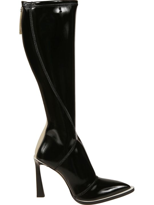 Fendi Rear Zipped Boots