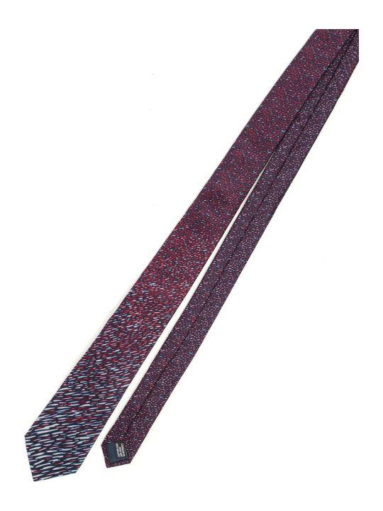 Lanvin Tie 7 Cm Flame Effect