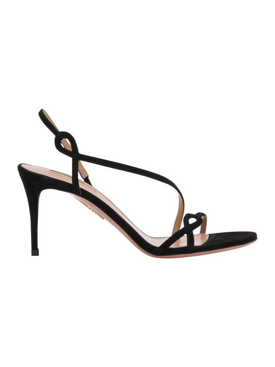 Aquazzura Serpentine 75 Sandals