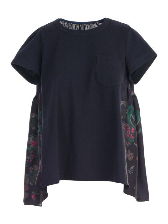Sacai T-shirt S/s W/pocket
