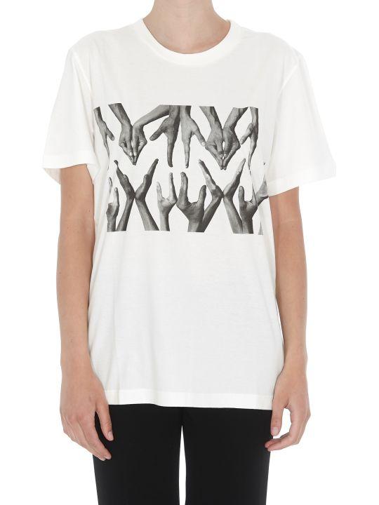 MM6 Maison Margiela T-shirt Logo Hands