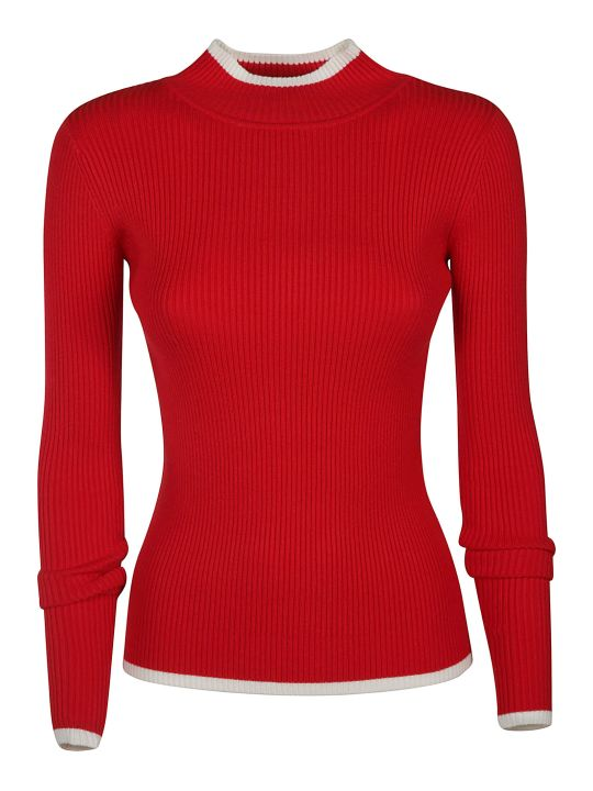 Ermanno Scervino Ribbed Sweater
