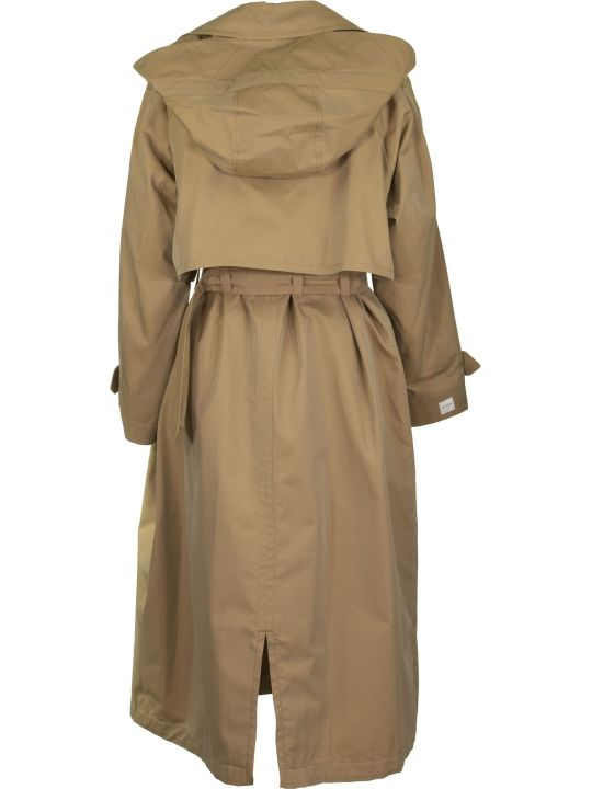 Max Mara The Cube Btrench Cotton Gabardine Trench Coat