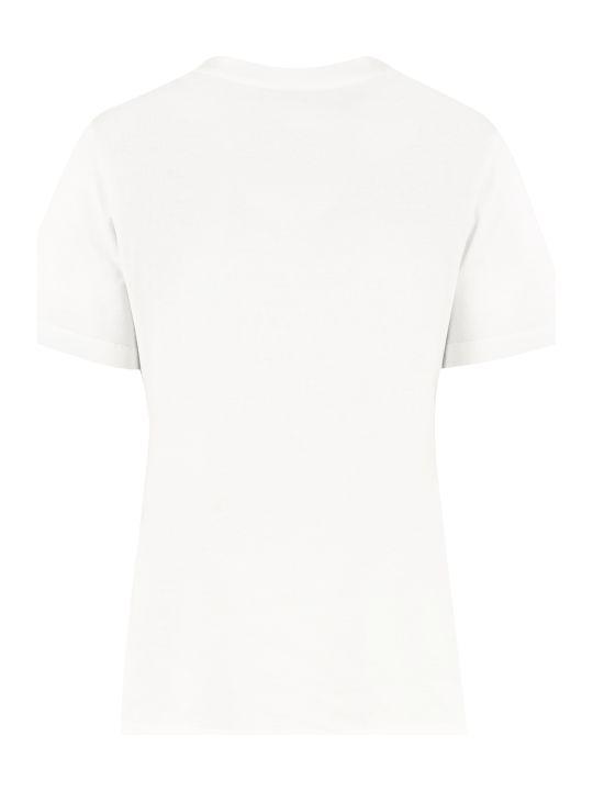 Salvatore Ferragamo Stretch Cotton T-shirt