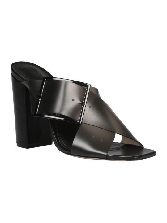 Schutz Vinyl Sandals