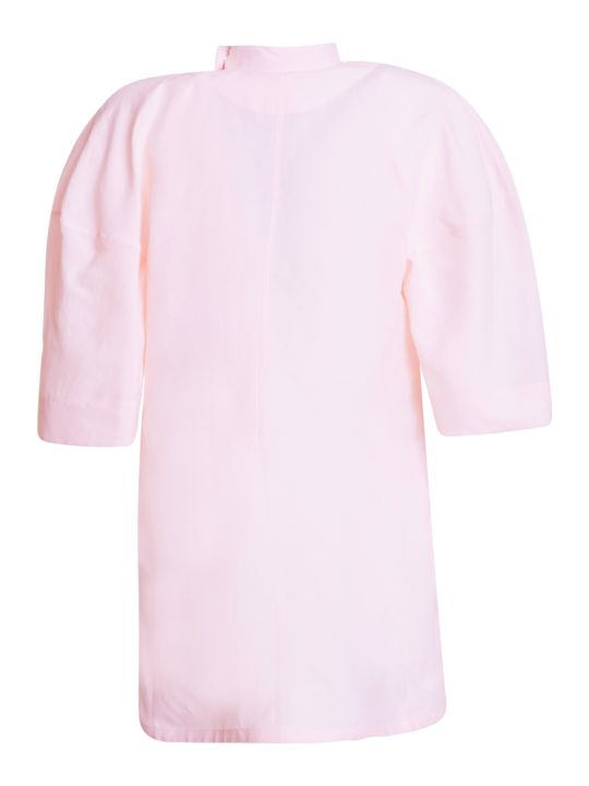 Jil Sander Oversized Cotton Blouse