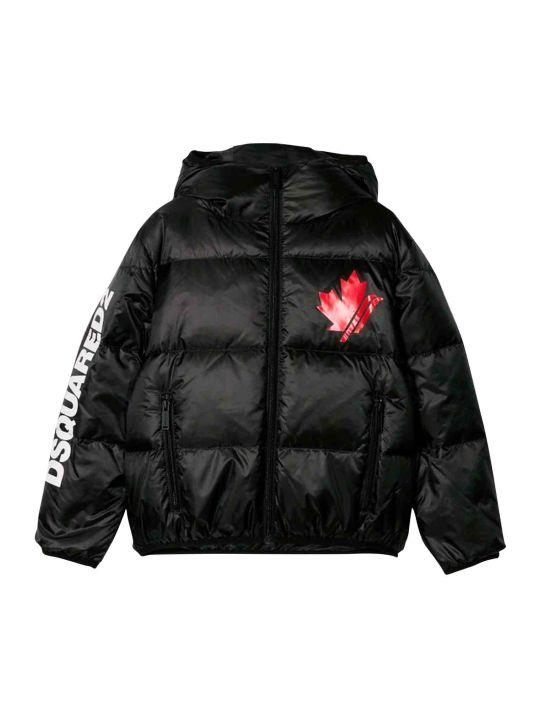Dsquared2 Black Jacket Teen